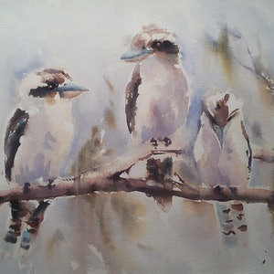 (CreativeWork) WHAT'S HIS PROBLEM? by Maureen Runge. watercolour. Shop online at Bluethumb.