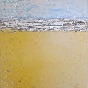 (CreativeWork) Pools of Morning Light by Jack Isbister. arcylic-painting. Shop online at Bluethumb.