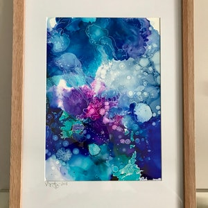 (CreativeWork) Underwater Ink I by Virginia Harding. drawing. Shop online at Bluethumb.