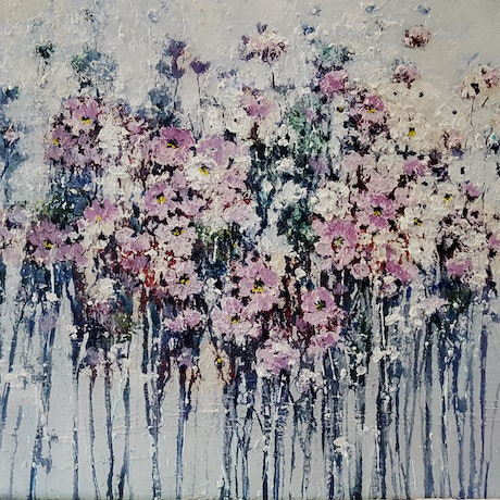 (CreativeWork) Last Spring by Helen Miles. Acrylic Paint. Shop online at Bluethumb.