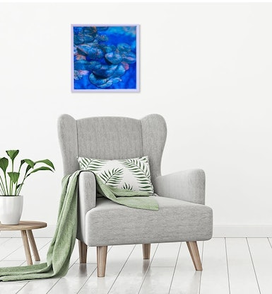 (CreativeWork) Water Lilies by Todd Simpson. #<Filter:0x00007fa5843b9eb8>. Shop online at Bluethumb.