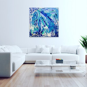 (CreativeWork) Beach Holiday by Myra Carter. acrylic-painting. Shop online at Bluethumb.