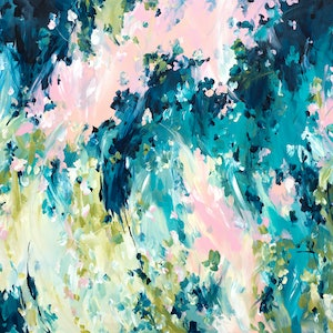(CreativeWork) Endless Passion by Amber Gittins. arcylic-painting. Shop online at Bluethumb.