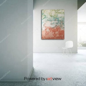 (CreativeWork) Australia Ocean and Earth  by Antony Sutherland. arcylic-painting. Shop online at Bluethumb.