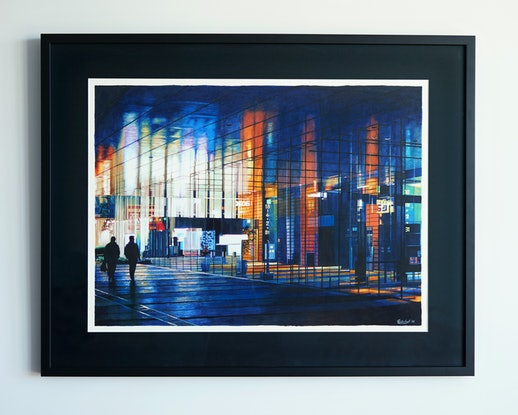 (CreativeWork) Reflections - Original - Framed by Erin Nicholls. Drawings. Shop online at Bluethumb.