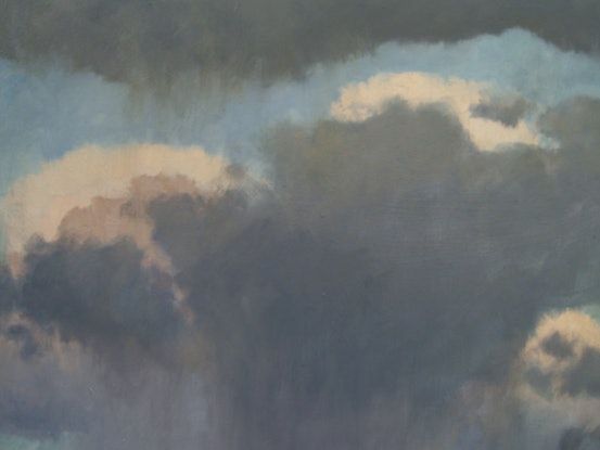 (CreativeWork) Squall by Steven Heyen. Oil Paint. Shop online at Bluethumb.