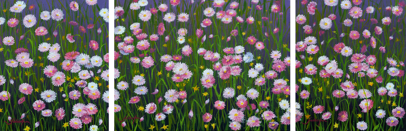 (CreativeWork) Everlasting Love by Julie-Ann Brown. oil-painting. Shop online at Bluethumb.
