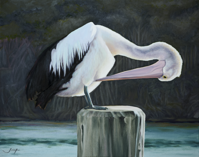 (CreativeWork) Preening Ed. 1 of 100 by Julie-Ann Brown. print. Shop online at Bluethumb.