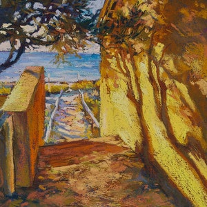 (CreativeWork) Rottnest Pathway by Carmen McFaull. other-media. Shop online at Bluethumb.