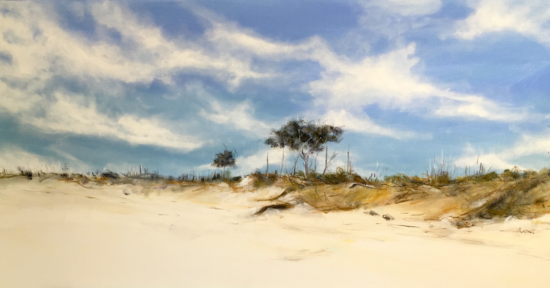 (CreativeWork) Belongil Beach by Jodi Bowen. other-media. Shop online at Bluethumb.