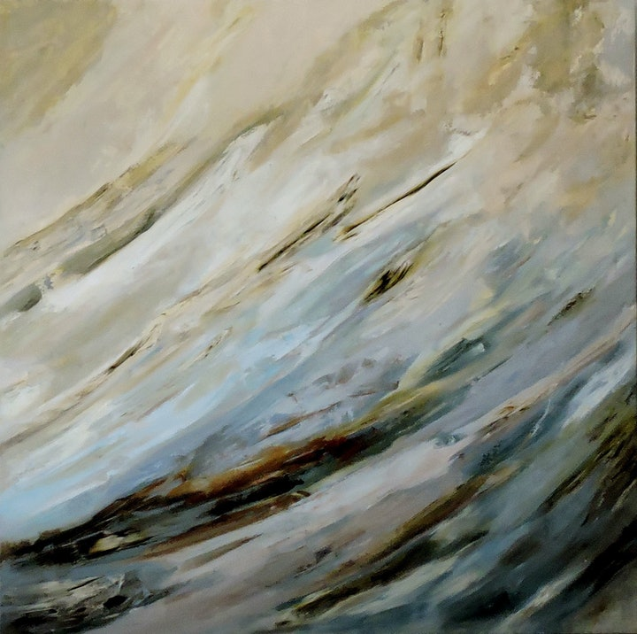 (CreativeWork) Swept Away by adele dubarry. oil-painting. Shop online at Bluethumb.