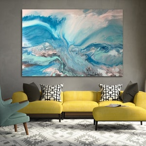 (CreativeWork) Evolution  by Michelle Chalmers. arcylic-painting. Shop online at Bluethumb.