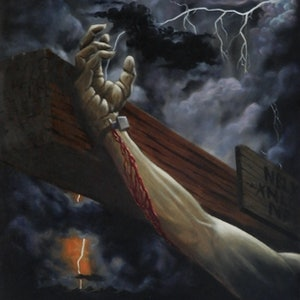 (CreativeWork) Insufferable Agony by Bob Murray. oil-painting. Shop online at Bluethumb.