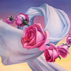 (CreativeWork) All You Need Is Love by Zelman Lew. oil-painting. Shop online at Bluethumb.