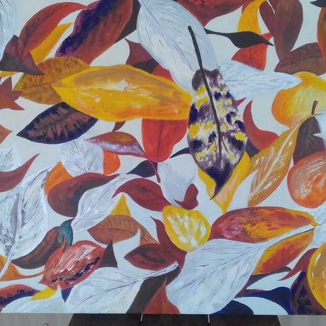 (CreativeWork) Missing Autumn by Peter Petruzzella. Acrylic Paint. Shop online at Bluethumb.