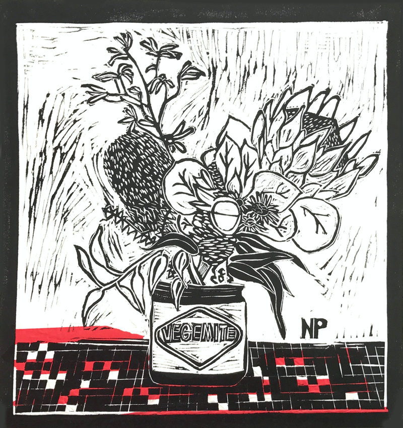 (CreativeWork) 'Very local bouquet' Ed. 1 of 50 by Niccy Pallant. #<Filter:0x00007f28c609c310>. Shop online at Bluethumb.