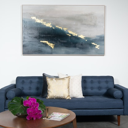 (CreativeWork) EVENING ON THE RIVER by Francesca Gnagnarella. Acrylic Paint. Shop online at Bluethumb.