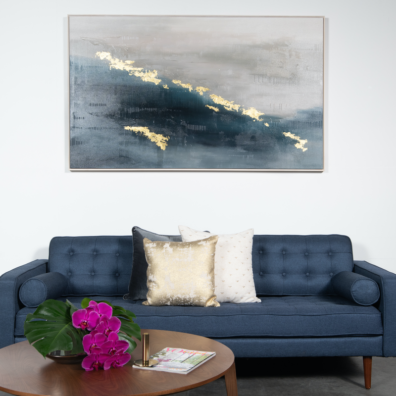 (CreativeWork) EVENING ON THE RIVER by Francesca Gnagnarella. arcylic-painting. Shop online at Bluethumb.