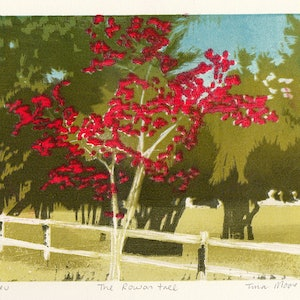 (CreativeWork) The Rowan tree Ed. 1 of 1 by Tina Moore. #<Filter:0x00007fe360614cc0>. Shop online at Bluethumb.