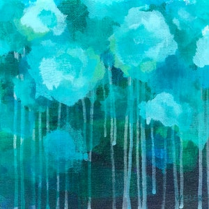 (CreativeWork) Tea Tree by Caroline Wisler. arcylic-painting. Shop online at Bluethumb.