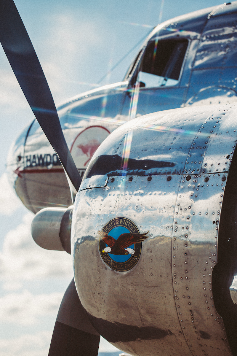 (CreativeWork) Douglas DC3/ C47  by Jordan Kirk. photograph. Shop online at Bluethumb.