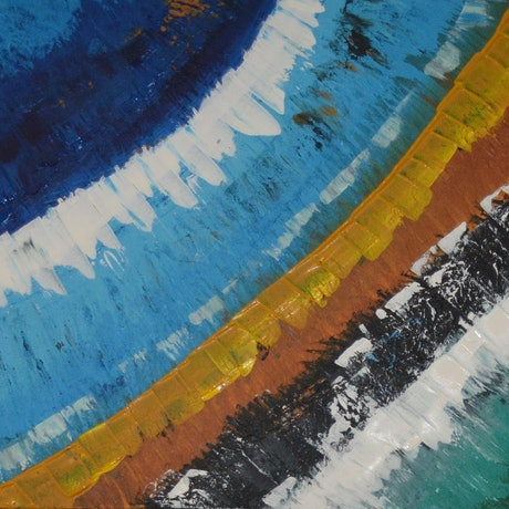 (CreativeWork) Let your emotions run! by Dinu Senaratne. Acrylic Paint. Shop online at Bluethumb.