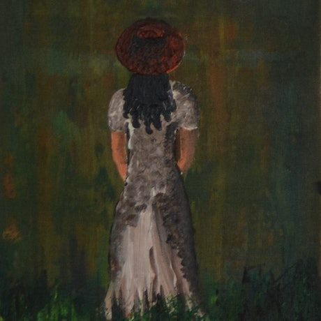 (CreativeWork) Looking through the woods... by Dinu Senaratne. Acrylic Paint. Shop online at Bluethumb.