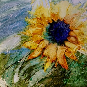 (CreativeWork) Come follow the Sun by Meg Lewer. other-media. Shop online at Bluethumb.