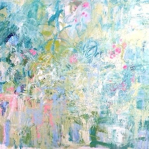 "(CreativeWork) ""Eden's Garden"" by LOU SHELDON. mixed-media. Shop online at Bluethumb."