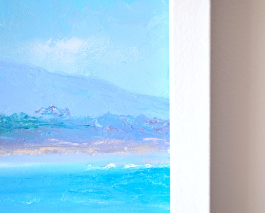 (CreativeWork) BYRON BAY MORNING - FRAMED by Jan Matson. Oil Paint. Shop online at Bluethumb.