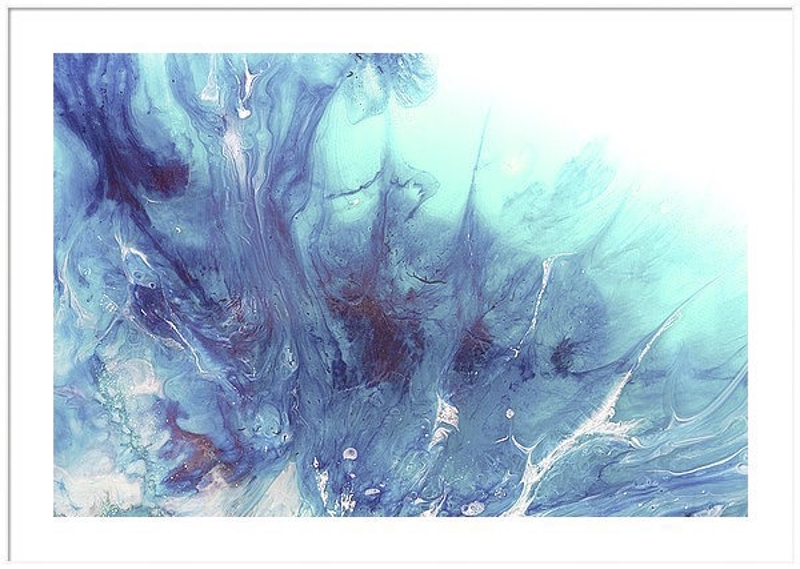 (CreativeWork) Dreaming Bronte Seascape - Limited Edition Print - OCEAN Seascape Wave  Abstract wall art   Ed. 1 of 25 by MARIE ANTUANELLE. print. Shop online at Bluethumb.