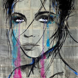 (CreativeWork) ZONE by loui jover. drawing. Shop online at Bluethumb.