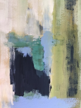 (CreativeWork) Abstract August 2018 by Patricia Galloway. Acrylic Paint. Shop online at Bluethumb.