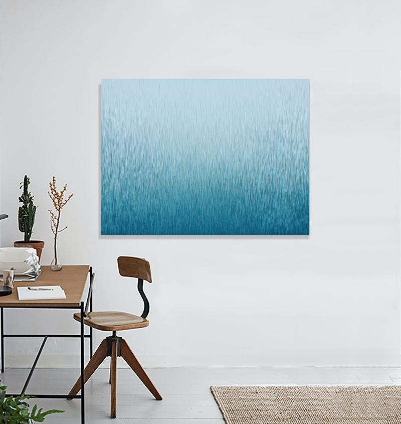(CreativeWork) 'Silent Motion'  120 x 90 cm acrylic painting on canvas  by George Hall. arcylic-painting. Shop online at Bluethumb.