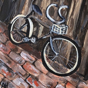 (CreativeWork) Mode of Transport by Amanda Hunt. arcylic-painting. Shop online at Bluethumb.