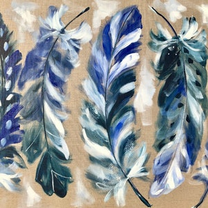 (CreativeWork) Five wishes  by Amanda Brooks. arcylic-painting. Shop online at Bluethumb.