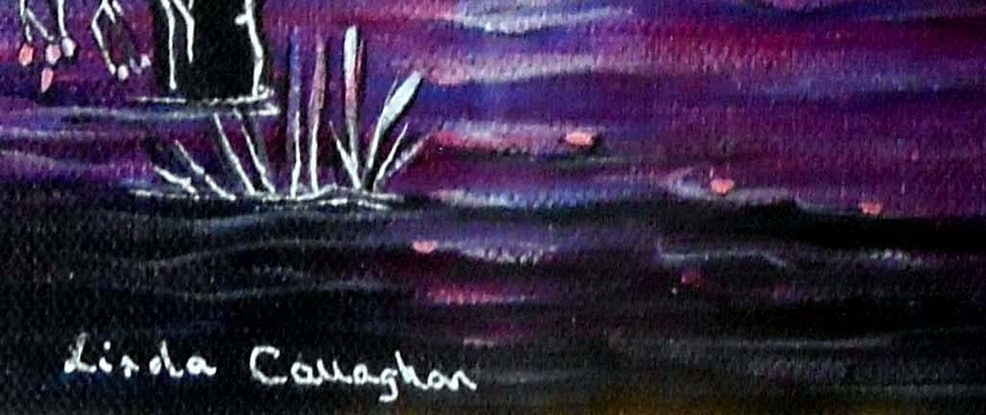 (CreativeWork) Purple Moon by Linda Callaghan. #<Filter:0x00005597d9575ca8>. Shop online at Bluethumb.