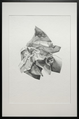 (CreativeWork) Paper on Paper #1 by Daevid Anderson. Drawing. Shop online at Bluethumb.