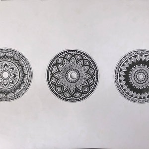(CreativeWork) set of 3 by Amelia Ludlam. drawing. Shop online at Bluethumb.