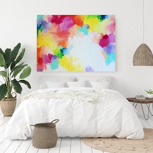 (CreativeWork) CLOUDS OF HOPE by Karen M. Andersen. arcylic-painting. Shop online at Bluethumb.
