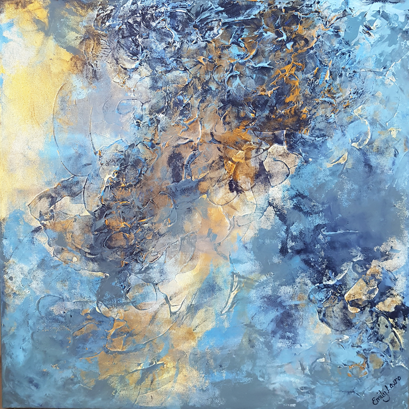 (CreativeWork) Clarity by Emily Lauro. arcylic-painting. Shop online at Bluethumb.
