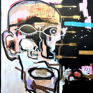 (CreativeWork) NOW  (part 1) by Cameron Holmes. mixed-media. Shop online at Bluethumb.