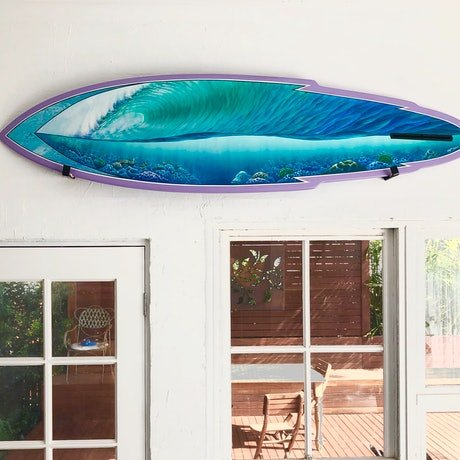 (CreativeWork) Reef Reeler by Wayne French. Acrylic Paint. Shop online at Bluethumb.
