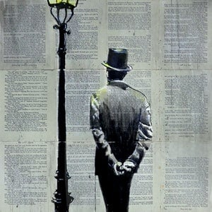 (CreativeWork) THE LIGHT by loui jover. drawing. Shop online at Bluethumb.