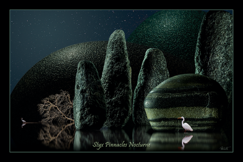 (CreativeWork) Styx Pinnacles Nocturne by Rob Smith. photograph. Shop online at Bluethumb.
