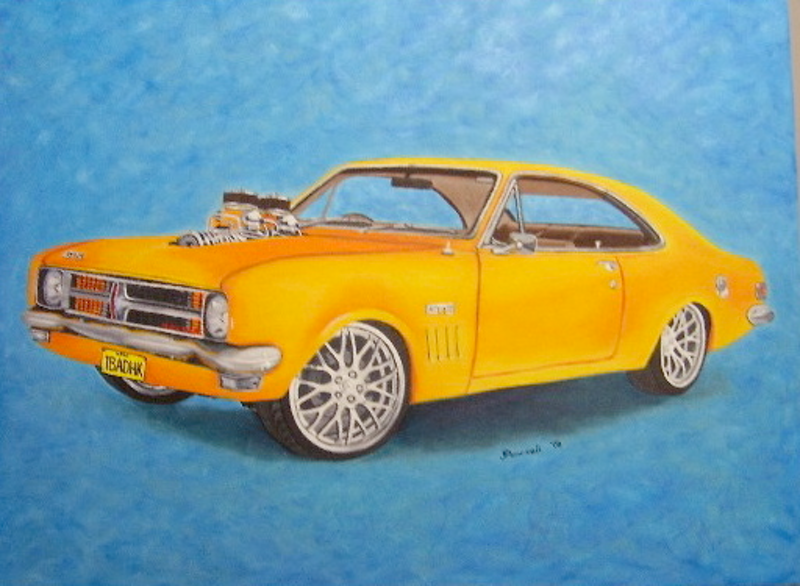 (CreativeWork) HK Holden by Jacqueline Pearsell. oil-painting. Shop online at Bluethumb.