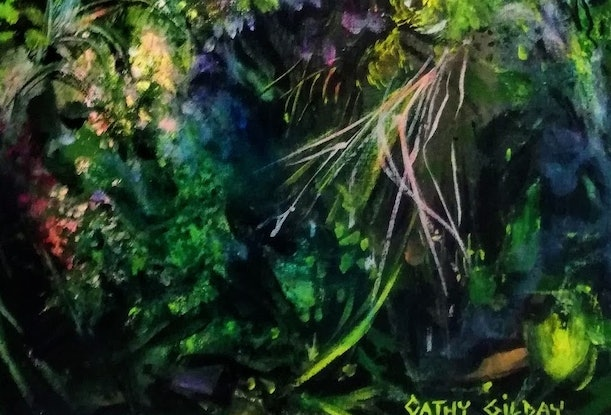 (CreativeWork) Forest Green by Cathy Gilday. #<Filter:0x000056101934bc58>. Shop online at Bluethumb.