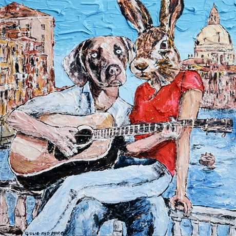 (CreativeWork) He only sang to her by Gillie and Marc Schattner. Print. Shop online at Bluethumb.