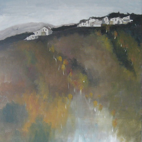 (CreativeWork) HOTHAM IN THAW by Paul Harbour. Acrylic Paint. Shop online at Bluethumb.