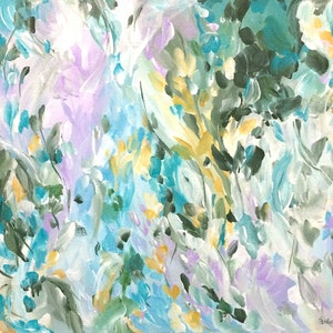 (CreativeWork) Whispers in the Wind by Amber Gittins. arcylic-painting. Shop online at Bluethumb.
